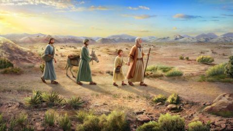 God Commands Abraham to Offer Isaac