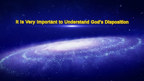 Understand God's Disposition