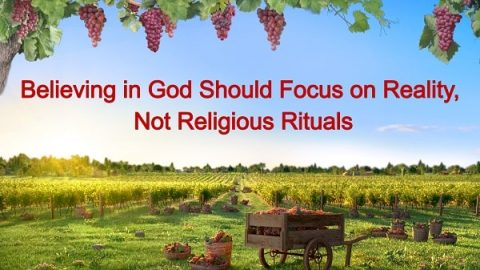 Believing in God Should Focus on Actual Practice, Not Religious Rituals