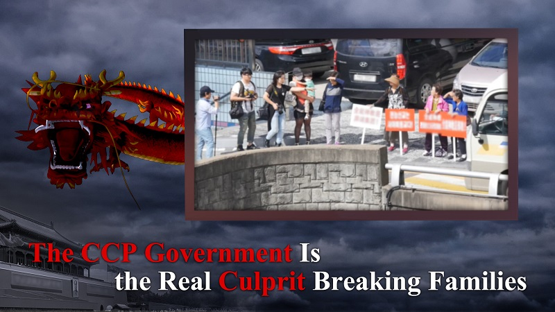 The CCP Government Is the Real Culprit Breaking Families