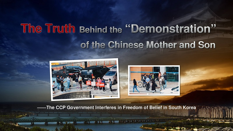 "The Truth Behind the ""Demonstration"" of the Chinese Mother and Son"