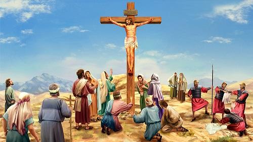nail Jesus in cross