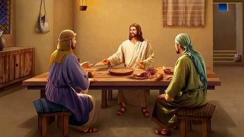 What Is the Lord Jesus' Intention to Explain the Scriptures and Eat Bread After His Resurrection?