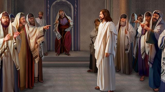 Prions pour les personnes qui souffrent du rejet... The-Pharisees-accuse-the-Lord-
