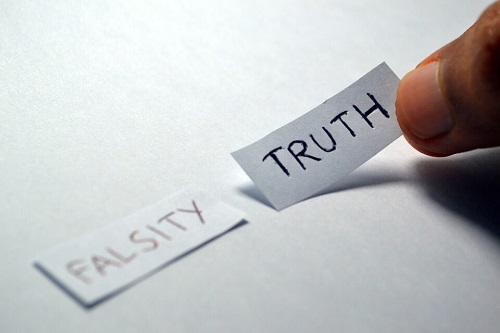 falsity or truth