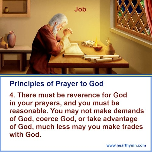 The Correct Way to Pray