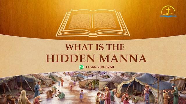 Revelation 2:17: What is the hidden manna