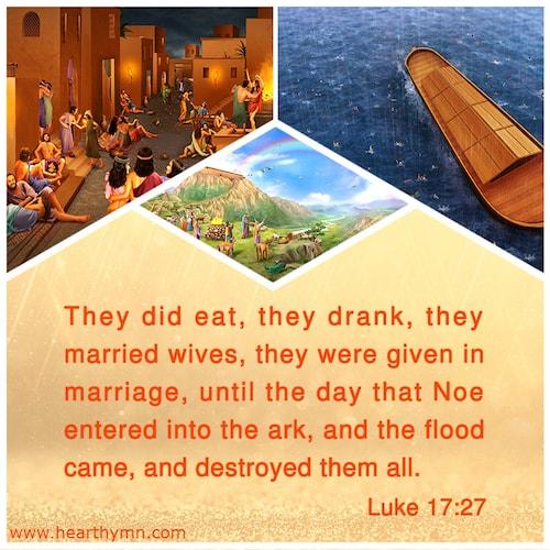 Luke 17:27 – Bible Verse