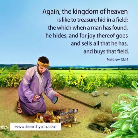Matthew 13:44 – The Parable of the Hidden Treasure