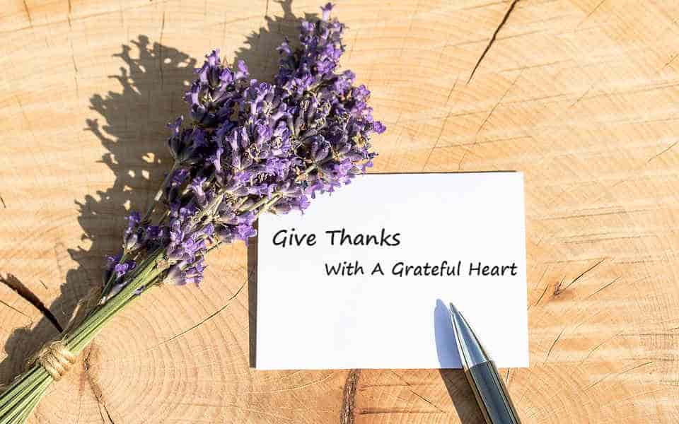 give thanks,grateful heart