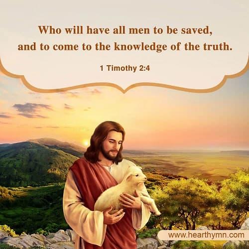 1 Timothy 2:4 – Bible Verse