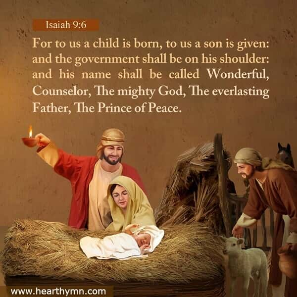 Bible Verse – Isaiah 9:6 The Birth of Jesus