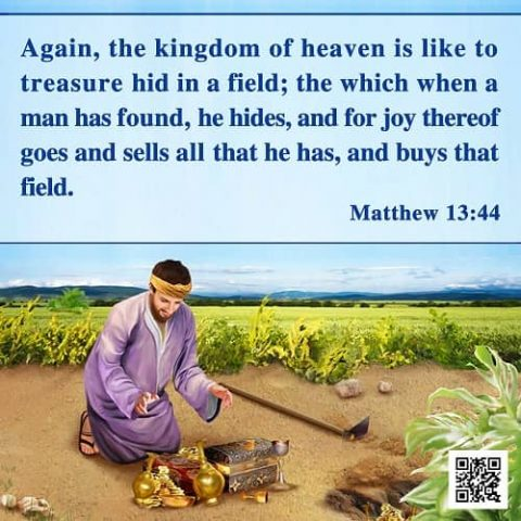 The Parable of the Kingdom of Heaven (Matthew 13:44) – Bible Verse