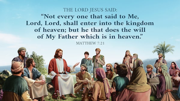 Matthew 7:21 Bible verses about kingdom of heaven