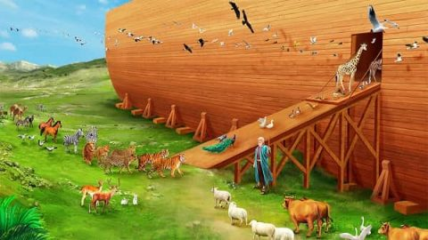 Entering the Ark - Bible Stories