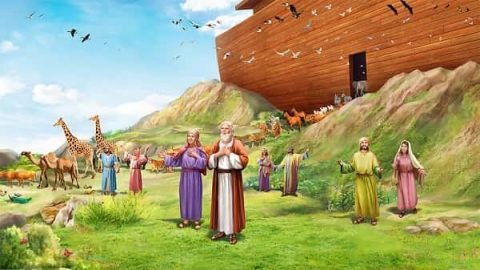 Exiting the Ark - Bible Stories - Genesis 8