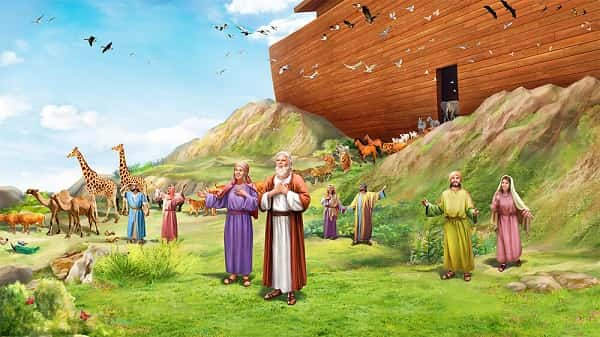 Exiting the Ark,Bible stories