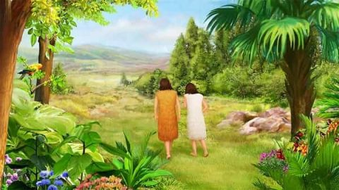 Expulsion from the Garden of Eden - Bible Stories