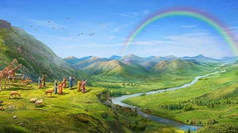 God's Covenant with Noah - Genesis 9 - Bible Stories