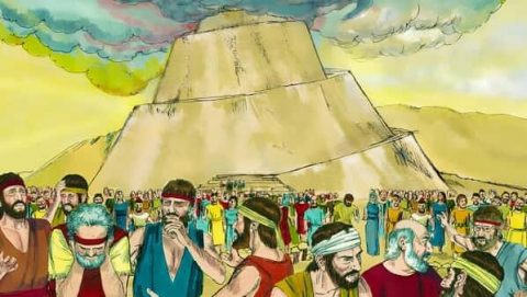 The Tower of Babel - Bible Stories - Genesis 11:1-9