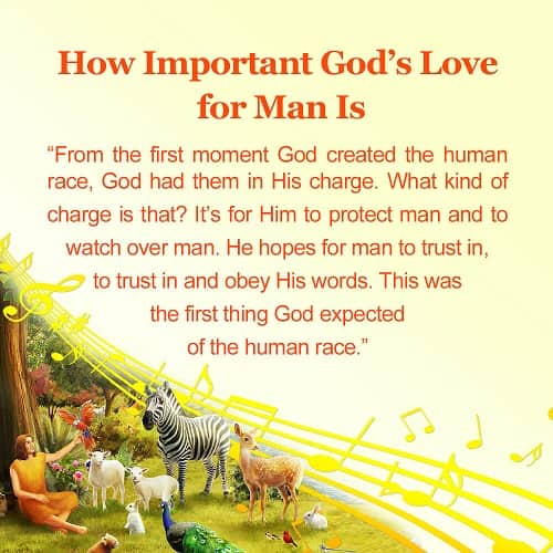 From Hymn How Important God's Love For Man Is Truth Quotes Magnificent God's Love Quotes