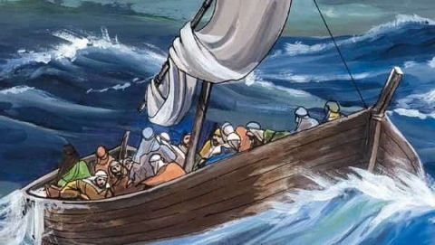 Jesus Stills the Storm: Matthew 8:22-27