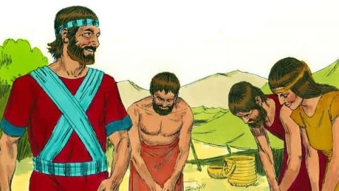 Joshua 2: Rahab Welcomes the Spies