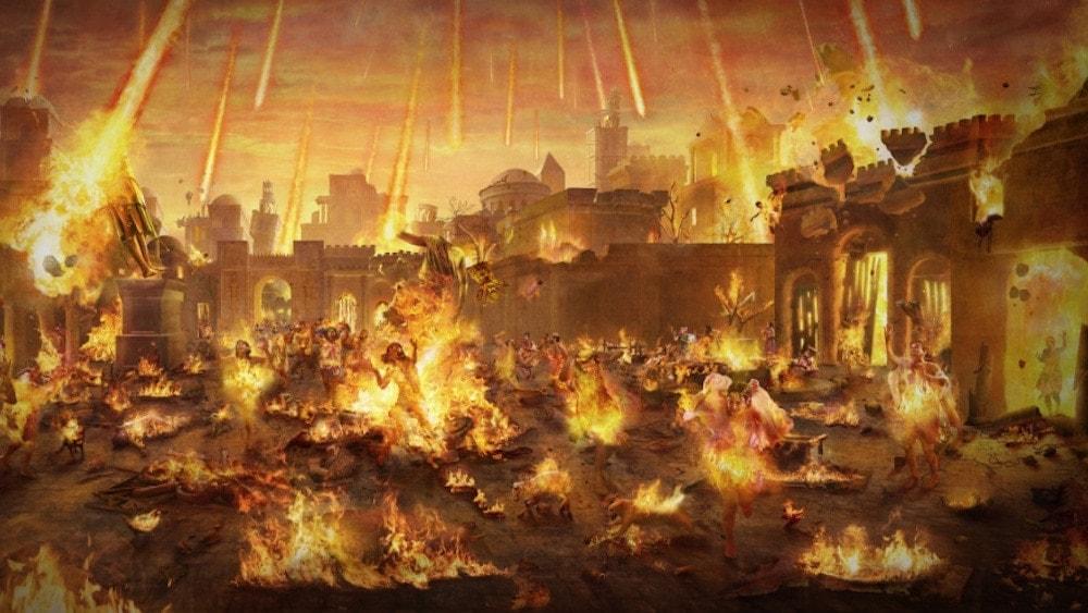 The Warning of God's Destruction of Sodom