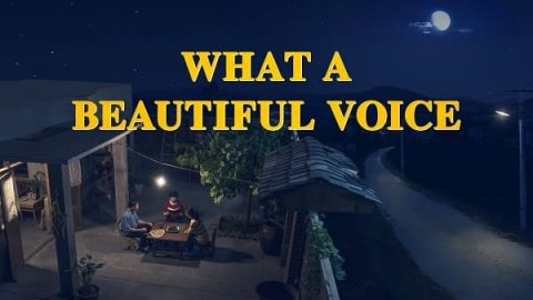 "Christian Movie ""What a Beautiful Voice"" Poster"