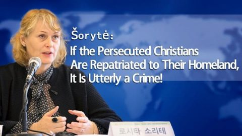 Šorytė: If the Persecuted Christians Are Repatriated to Their Homeland, It Is Utterly a Crime!