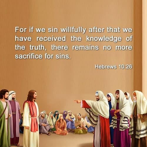 Hebrews 10:26