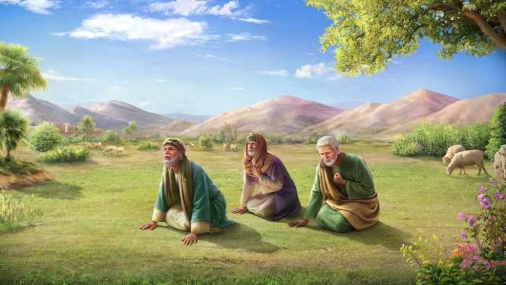 God Rebuked Job's Three friends