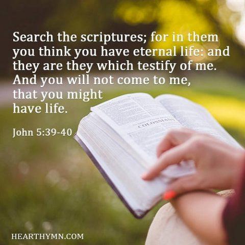 John 5:39-40