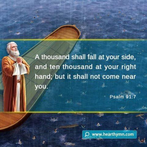 Psalm 91:7 – God's Protection