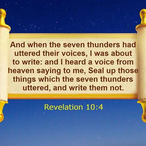 Revelation 10:4
