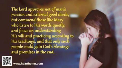pray to God from heart