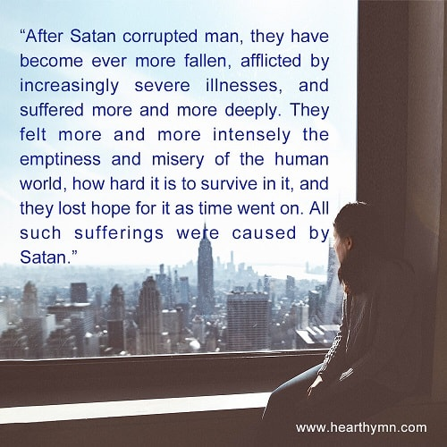 After Satan corrupted man