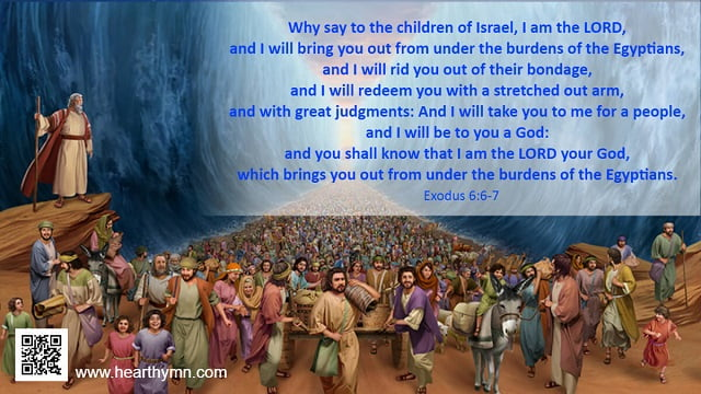 Exodus 6:6-7 – Exodus from Egypt