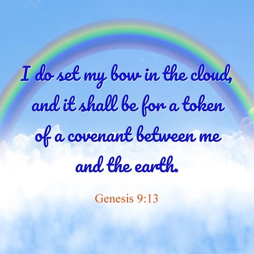 Genesis 9:13 – Rainbow Covenant
