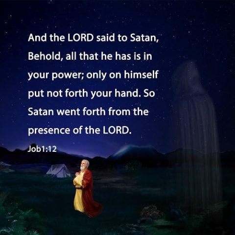 Job 1:12