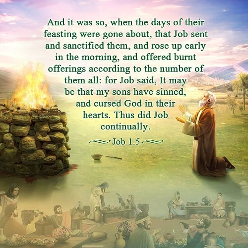 Job 1:5