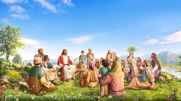 Lord Jesus preaching