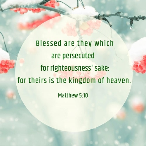 Matthew 5:10 – Enter the Kingdom of Heaven