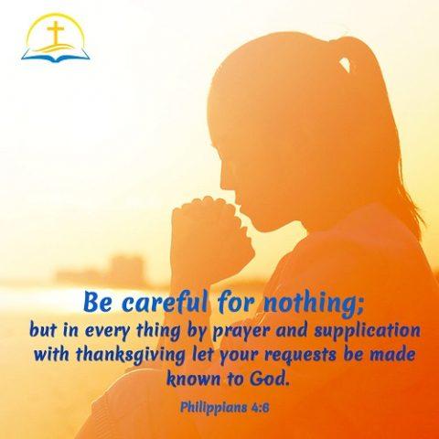 How to Pray – Philippians 4:6