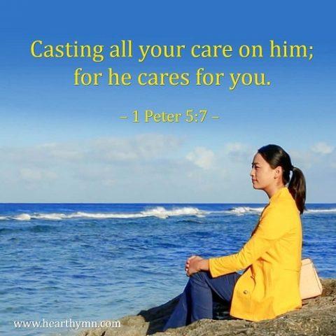1 Peter 5:7,Bible Verse