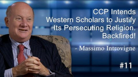 CCP Intends Western Scholars to Justify Its Persecuting Religion. Backfired