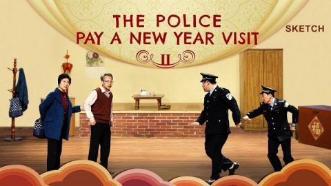 Christian Short Sketch - The Police Pay a New Year Visit II
