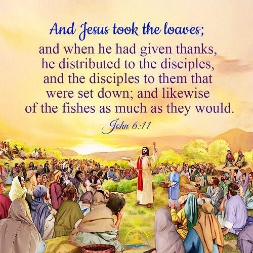 John 6:11