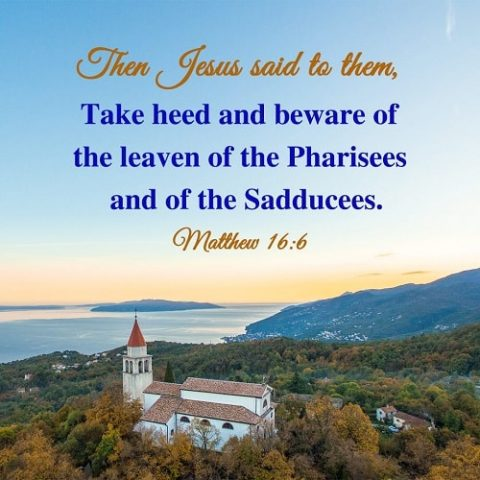 Matthew 16:6,daily verse