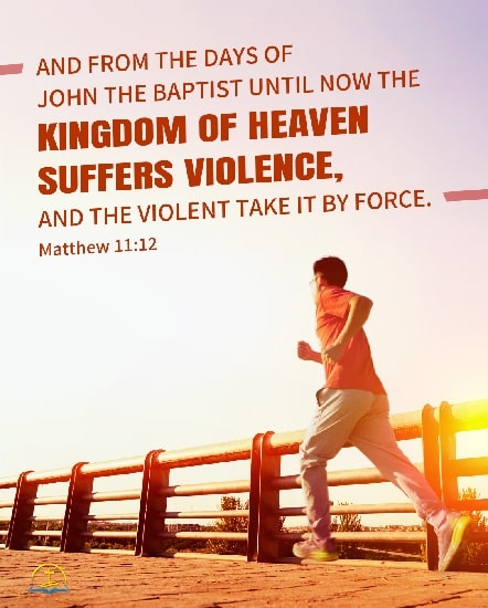 The Kingdom of Heaven Suffers Violence. A Commentary on Matthew 11:12